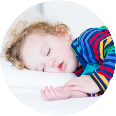 Toddler Sleeping in Bed All Night