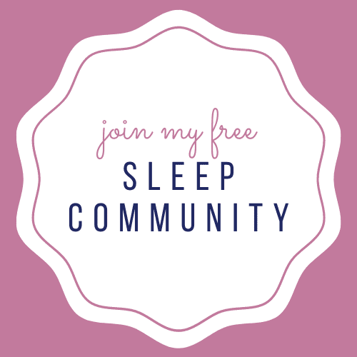 Join my baby sleep community