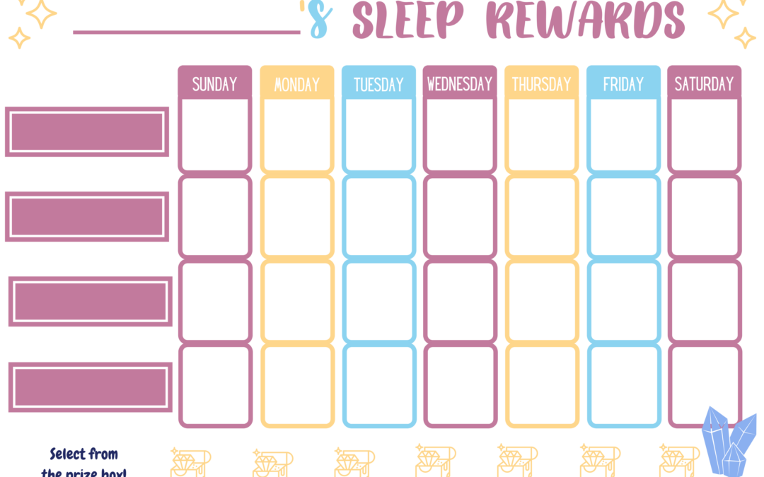Nap & Bedtime Reward Charts for Toddlers