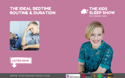 Episode 65: What is the Ideal Bedtime Routine & Duration for Your Child?
