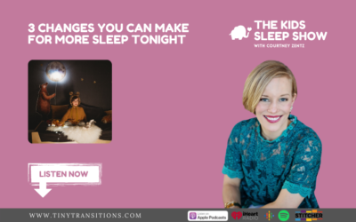 Episode 63- 3 Things You Can Change Today for More Sleep Tonight