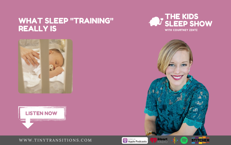 """Episode 29- What Sleep """"Training"""" Really Is"""