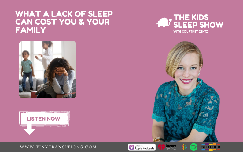 Episode 30- What A Lack of Sleep Can Cost You & Your Family