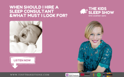 Episode 90: When Should I Hire a Sleep Consultant & What Must I Look For?